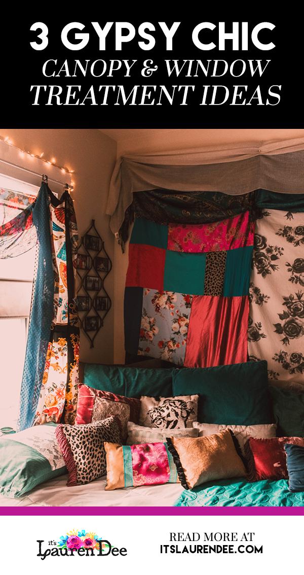 3 Gypsy Chic Canopy Window Treatment Ideas